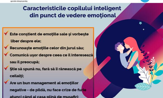 Caracteristicile copilului inteligent din punct de vedere emoțional